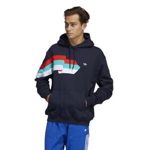 Adidas Ripple Hoody FM1518 blau Pullover