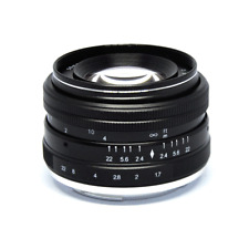 Jintu 50mm f/2.0 Portrait Lens For NEX3 NEX5 NEX6 NEX7 A5100 A6000  A6300 A6500
