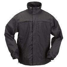 5.11 TACTICAL Tac Dry Rain Shell, Patrol Duty, 48098, Black, Size X-Large