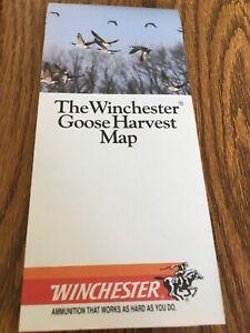 1990 Winchester Ammunition Goose Harvester Map