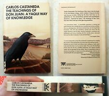 The Teachings of Don Juan: Carlos Castaneda: paperback Touchstone 1974 1st/2nd