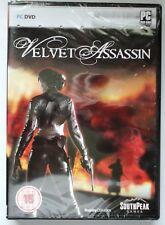 VELVET ASSASSIN PC DVD-ROM WWII SHOOTER GAME brand new & sealed UK ORIGINAL