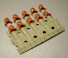 10 pièces 270 pf/1 KV céramique condensateurs (m0642)