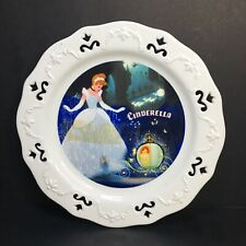 8� Rare Disney Store Cinderella Princess Fairy Godmother Porcelain Display Plate