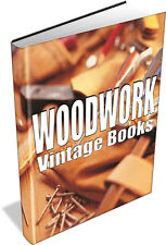 Woodworking 13,000 PLANS, 367 MAGAZINES & 100 eBOOKS on 4 DVD's Carpentry DIY