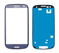 Samsung Galaxy S3 Display Glas Blau Blue i9300 i9305 Touchscreen Front Glass TOP