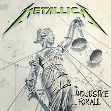 Metallica ...AND JUSTICE FOR ALL (858978005776) 180g REMASTERED New Vinyl 2 LP