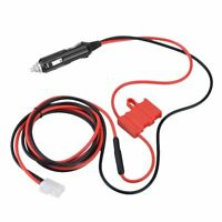 12V Power Cable Cigarette Lighter Plug Fit to Hytera MD780 MD650 Mobile Radio