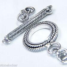 TG27 Toggle 34mm SILBER 925 Verschluss f. Kette u. Armband silver clasp 34mm