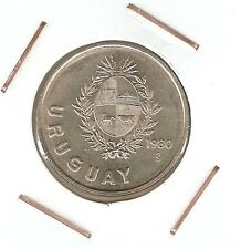 Uruguay: 1 Nuevo Peso 1980 So UNC