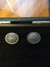 KONSTANTINO COLLECTIONS SOLID SILVER 925 CUFF LINKS