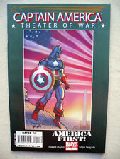 CAPTAIN AMERICA THEATER OF WAR AMERICA FIRST ONE SHOT VO NEUF NEAR MINT / MINT