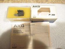 New listing Akg P5Ed Nos Cartridge And Nos Genuine Akg X5Ed Stylus In Plastic Case Plus Box