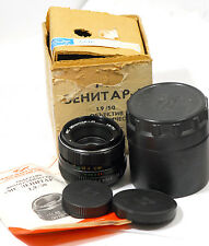 MC Zenitar-M  1.9/50mm lens for ZENIT M42 KMZ   MINT KIT