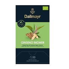 Dallmayr Ginseng Ingwer Tee BIO 20  Pyramiden x 2,5g