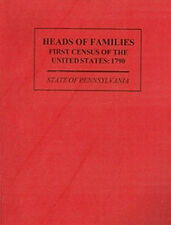 Genealogy: HEADS OF FAMILIES: First United States Census: 1790 - State of Pennsy