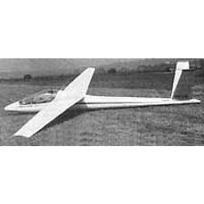 Bauplan Orlice VSB 66 Modellbau Modellbauplan Segelflugzeug