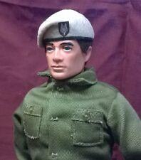Banjoman 1:6 Scale Custom Made Beret For Vintage Action Man - Beige - S.A.S.