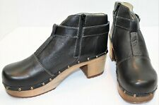 Sanita Wood-Owl Ankle Leather Boots ~ Women's Size 40(US 9.5/10)