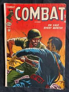 ATLAS 10 CENT COMBAT COMIC OCTOBER 1952