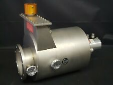 Varian Cryopump With Gate And Water Heated Chamber 8 Asa Flange High Vacuum Uhv