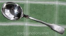 "VINTAGE INTERNATIONAL INDIAN HEAD 7-1/4"" STERLING SILVER CREAM SOUP SPOON 60gr"