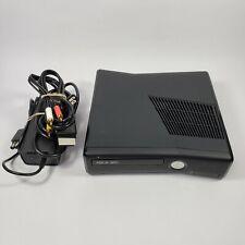Microsoft Xbox 360 S 4Gb Console - Black With Cords No Controller