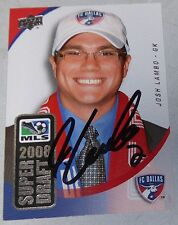 Josh Lambo 2008 MLS Soccer Draft Upper Deck Chargers Football Rookie Card SD7 RC