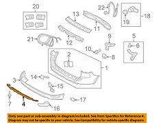 VOLVO OEM 10-13 XC60 Rear Bumper-Protect Plate 30764994