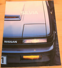 Prospekt Nissan Silvia 1984