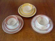 Sammeltassen-Sammelgedecke-Konvolut-3 Stück-verschiedene Marken-Porzellan