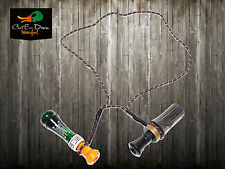 AVERY GREENHEAD GEAR GHG DOUBLE LOOP GAME CALL LANYARD DUCK GOOSE DECOYS