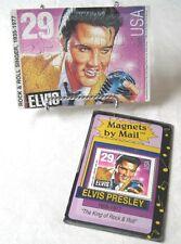Elvis Presley Postcard Puzzle & Magnet Set of 2