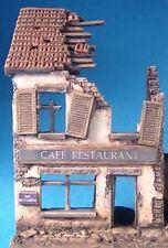Milicast DBS09 1/76 Resin Type 3 Ruined house with 3 elevations, 2 floors, door