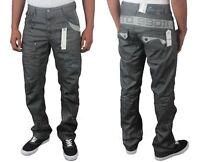 Mens ETO EM290 Designer Straight Leg Fit Jeans Trousers Pants Waist Sizes 28-42