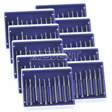 20x Dental Fg High Speed Carbide Burs Fg330 Tungsten Steel 19mm