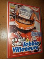 Raro DVD Autosprint Gli Años de Fiebre Gilles Villeneuve