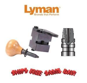 Lyman 1 Cav Mold 358439HP 38 Spec, 357 Mag, 358 Dia 155 Grain Semi-Wadcutter