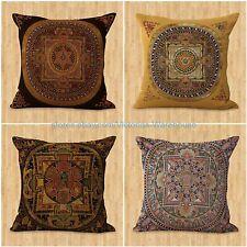 US SELLER-set of 4 cushion covers unity harmony mandala interior decoration