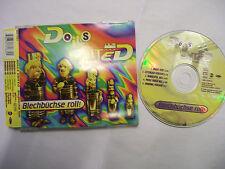 DOLLS UNITED Blechbüchse Roll!  – 1995 German CD Maxi – House,  Psy Trance