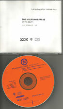 THE WOLFGANG PRESS Going South  4AD RARE 1992 USA PROMO Radio DJ CD Single MINT