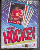 1989-90 Topps Hockey Box