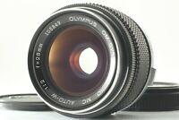 【EXC5+】 Olympus OM System Zuiko MC Auto W 28mm F2 MF Lens From JAPAN