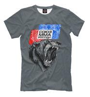 MMA New T-shirt Union of mma of Russia Sport Fight 501717