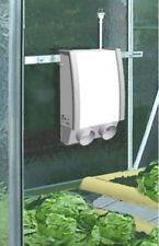 Chauffage électrique Etuve 4 Kanal CHAUFFAGE DE SERRE + THERMOSTAT DIGITAL T2