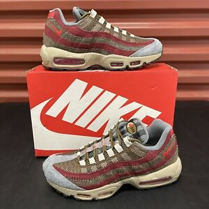 New Nike Air Max 95 Size 8.5 'Freddy Krueger/Halloween' (DC9215-200) In Hand!