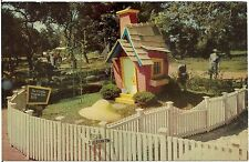3 Little Pigs House at Children's Fairyland in Oakland Ca Postcard