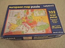 European Map Jigsaw Puzzle 102 Pieces by Ladybird