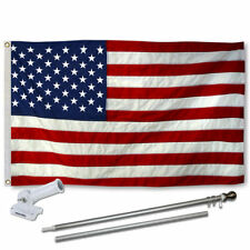 USA Flag Pole and Bracket Kit