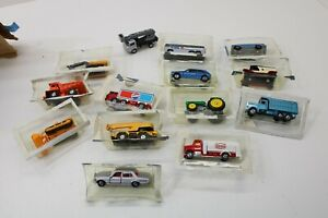"""TOMICA JAPAN DIECAST LAYOUT VEHICLES (14)  VEHICLES ARE 2 1/4"""" TO 3"""""""